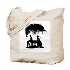 Jane Austen Lovers Tote Bag