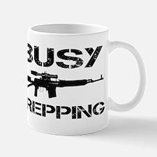 Busy Prepping Gun Mug