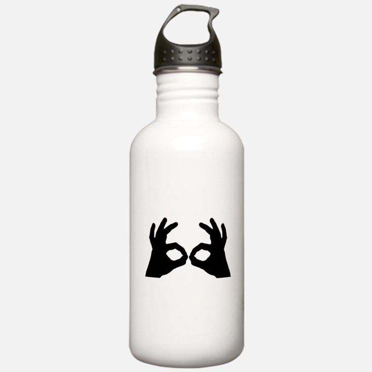 3 Point Goggles Water Bottle