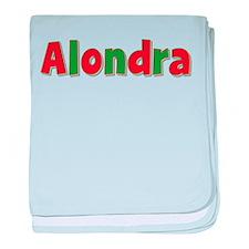 Alondra Christmas baby blanket
