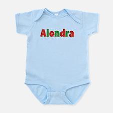 Alondra Christmas Infant Bodysuit