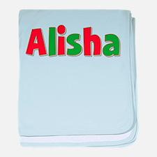 Alisha Christmas baby blanket
