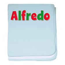 Alfredo Christmas baby blanket