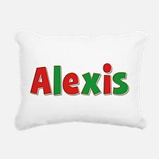 Alexis Christmas Rectangular Canvas Pillow