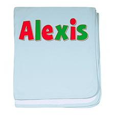 Alexis Christmas baby blanket