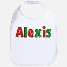 Alexis Christmas Bib