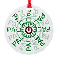 Paleo Power Wheel Ornament
