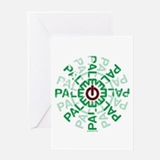 Paleo Power Wheel Greeting Card
