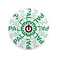 "Paleo Power Wheel 3.5"" Button"
