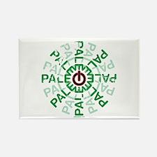 Paleo Power Wheel Rectangle Magnet