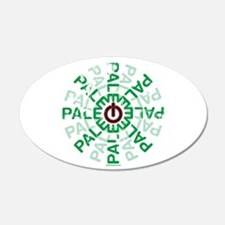 Paleo Power Wheel Wall Decal