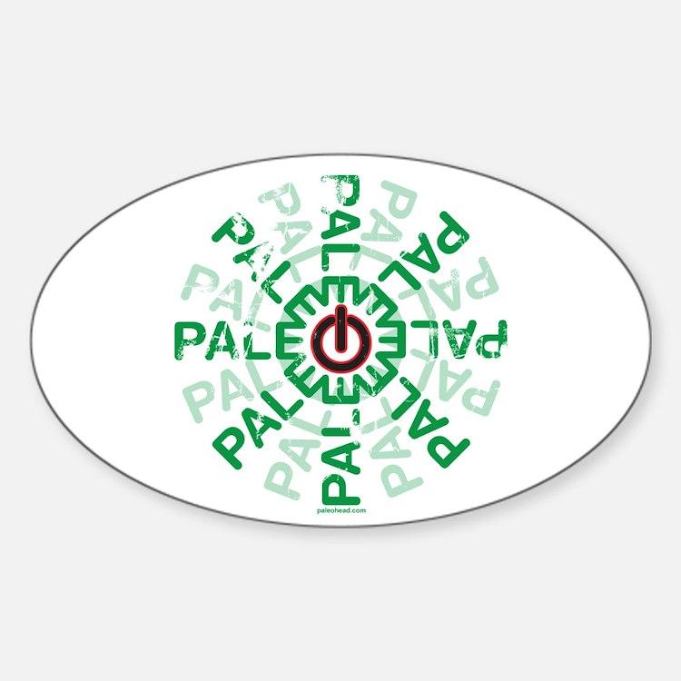 Paleo Power Wheel Decal