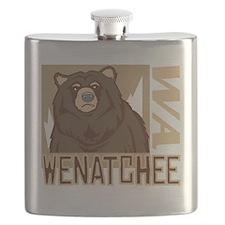 Wenatchee Grumpy Grizzly Flask