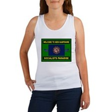 NEW HAMPSHIRE NUTS Women's Tank Top
