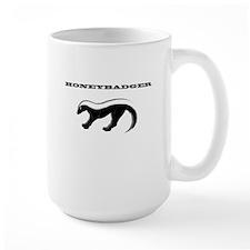 HONEYBADGER GREY Mug