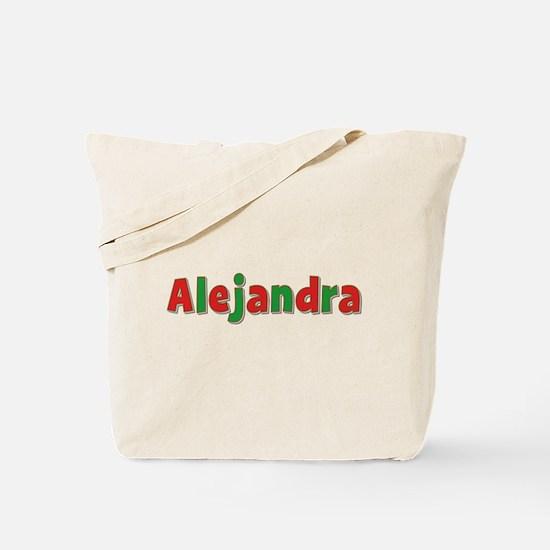 Alejandra Christmas Tote Bag