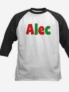 Alec Christmas Kids Baseball Jersey