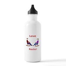 Love Rocks Water Bottle