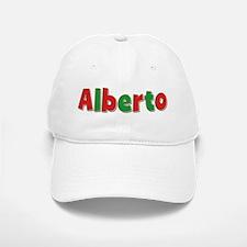Alberto Christmas Baseball Baseball Cap