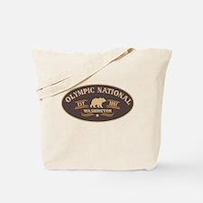 Olympic Belt Buckle Badge Tote Bag