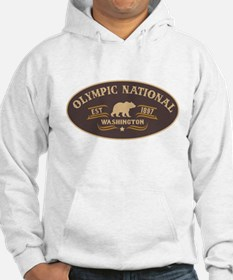 Olympic Belt Buckle Badge Hoodie Sweatshirt