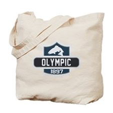Olympic Nature Badge Tote Bag