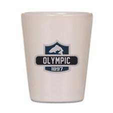 Olympic Nature Badge Shot Glass