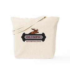 Olympic Fleur de Moose Tote Bag