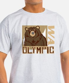 Olympic Grumpy Grizzly T-Shirt