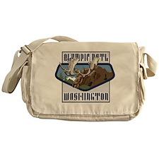 Olympic Mountaintop Moose Messenger Bag