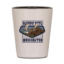Olympic Mountaintop Moose Shot Glass