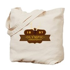 Olympic National Park Crest Tote Bag