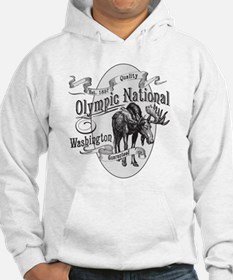 Olympic National Vintage Moose Hoodie