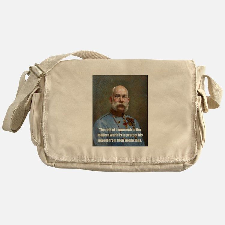 Franz Josef I Messenger Bag