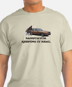 Sasquatch Keeping It Real T-Shirt
