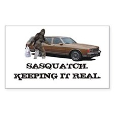Sasquatch Keeping It Real Decal