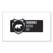 Fairbanks Arrowhead Badge Decal