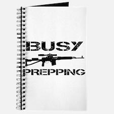 Busy Prepping Gun Journal