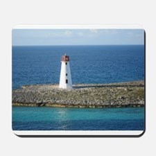 Lighthouse in the Bahamas Mousepad