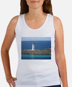 Lighthouse in the Bahamas Women's Tank Top