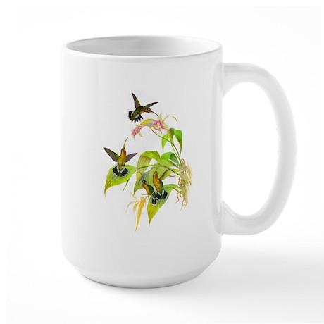 Hummingbirds Large Mug