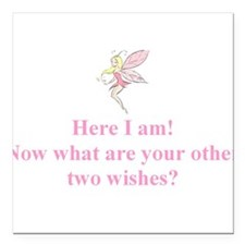 Here I am: now what are your other two wishes? Squ