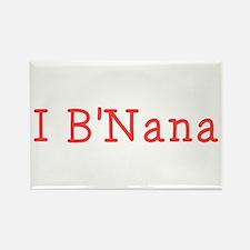 I BNana Rectangle Magnet (10 pack)