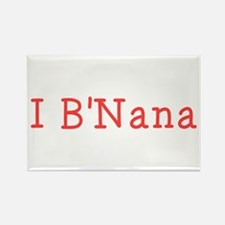 I BNana Rectangle Magnet