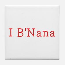 I BNana Tile Coaster