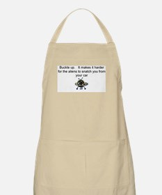 Buckle up - aliens are coming! Apron
