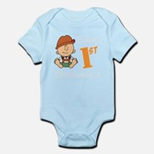 Babys First Oktoberfest Body Suit