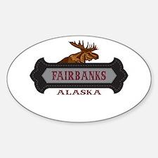 Fairbanks Fleur de Moose Decal