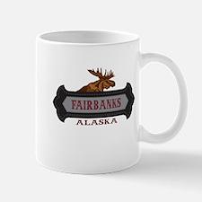 Fairbanks Fleur de Moose Mug