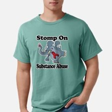 Elephant Stomp On Substa Mens Comfort Colors Shirt